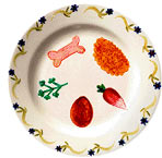 Porcelain Passover Seder Plate