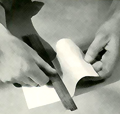 the paper becomes flexible and easy to handle.