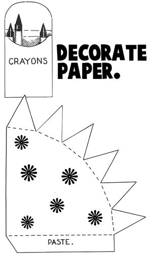 Decorate paper.