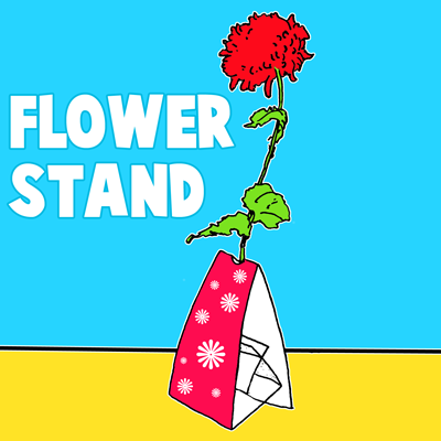 How to Make a Flower Stand for Mother's Day