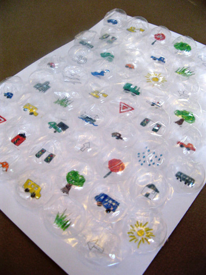 Bubble Wrap Travel Game