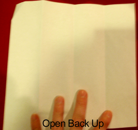 Open back up.