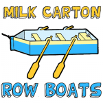 How to Make a Milk Carton Row Boat