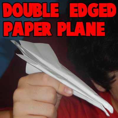 How to Make a Double Edged Paper Airplane