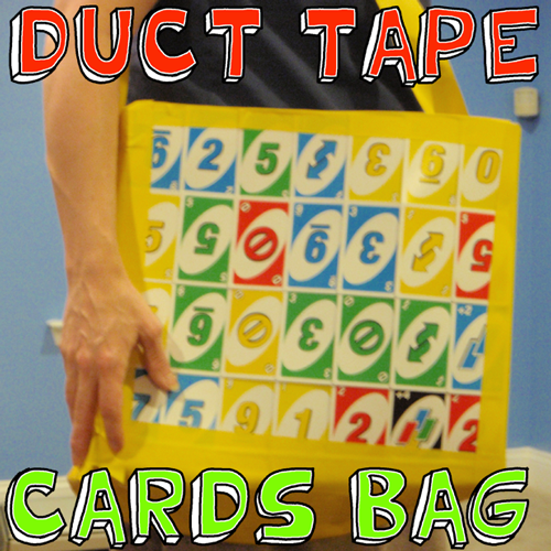 How to Make a Duct Tape Playing Cards Shoulder Bag