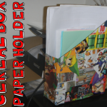 How to Make a Cereal Box Paper Holder