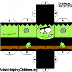 frankenstein-paper-foldable-toy-templates