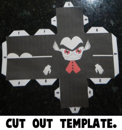 Step 2 Cut Template