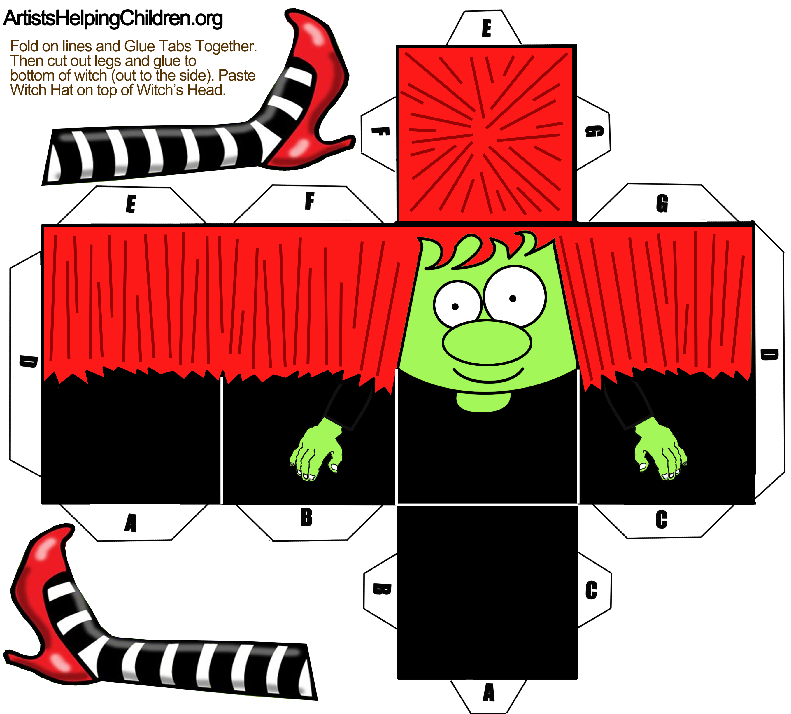 It's just an image of Epic Printable Halloween Craft