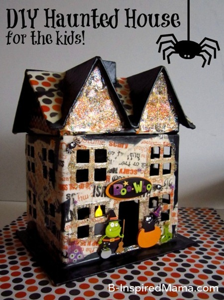 Mod Podge Haunted House