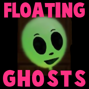 How to make Floating Ghosts for Halloween