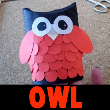 How to make a Paper Owl decoration for Halloween