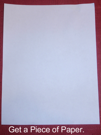 Get a piece of paper.