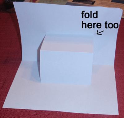 Fold here too.