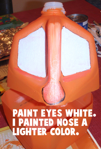 Paint eyes white.