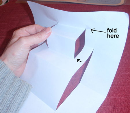 Fold here like in above picture.