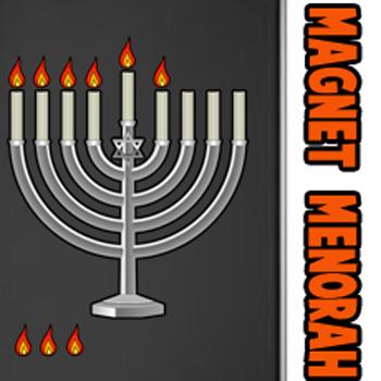 How to Make a Magnetic Hanukkah Menorah