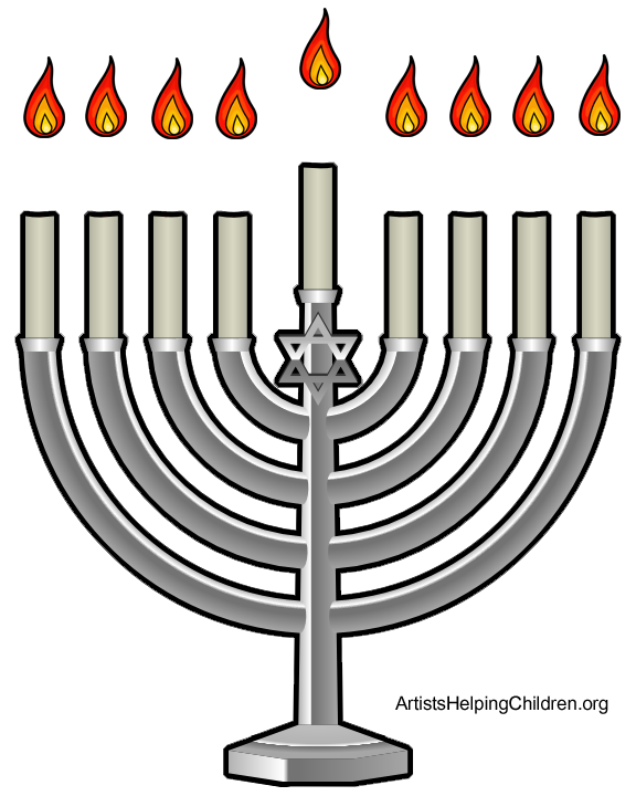 How to Make a Magnetic Hanukkah Menorah - Kids Crafts ...