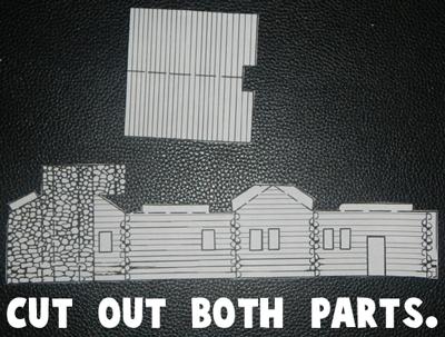 Cut out both parts.