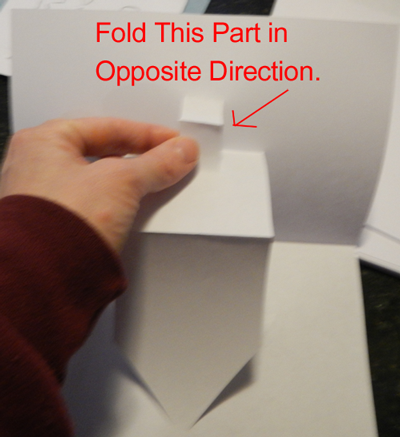 Fold this part in opposite direction.