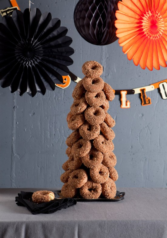Donut Christmas Tree