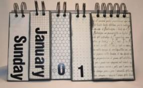 Flipping Perpetual Calendar