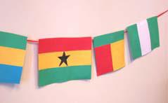 Kwanzaa Flag Decoration