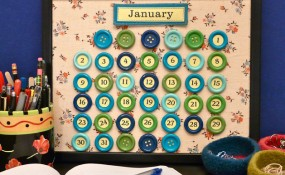 Some Really Cool Perpetual Calendar Crafts for the New Year