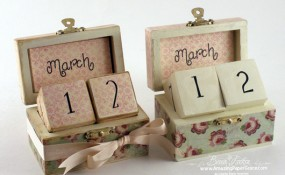 Thrifty Box Perpetual Calendar