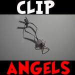 How to Make Paperclip Christmas Angels Easy Kids Craft Tutorial