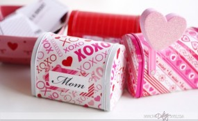 Tin Valentine Boxes