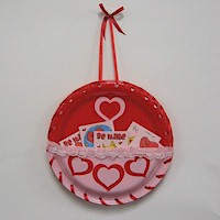 Valentine's Day Card Holder