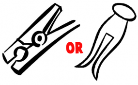 Get either type of clothespin