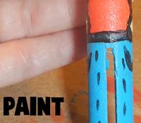 Paint details you want.