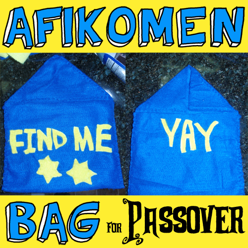 How to Make an Afikomen Bag for Passover