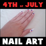 How to Make Removable Nail Art for 4th of July  : Fun Craft Idea for Independence Day