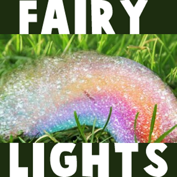 How to Make Fairy Lights with Bubbles and Paint
