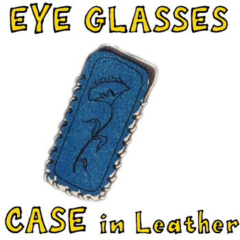 How to Make Leather Eye Glasses Cases with Etched Design