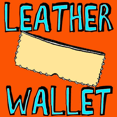 How to Make Leather Wallets with Stitching Craft for Kids & Teens