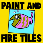 How to Paint, Glaze, and Fire Ceramic Tiles