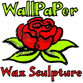 How to Make Wallpaper Wax Sculptures