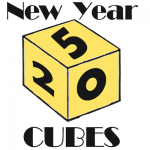 How to Make a New Years Cube Dice to Celebrate the New Year