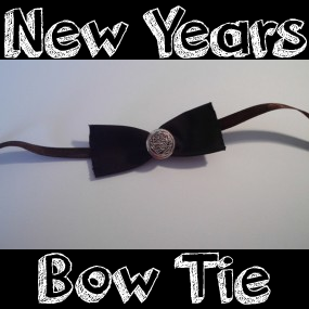 How to Make a Bow Tie for New Year Eve Party