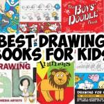 list of best drawing books for young kids, preschoolers, homeschooled kids