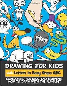 kids can learn how to draw with numbers and letters