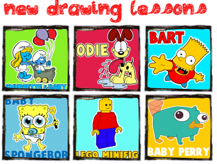 New Drawing Lessons